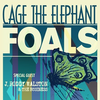 Cage the Elephant / Foals
