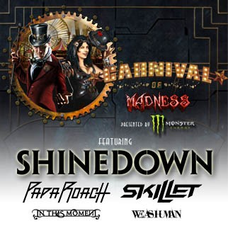 Carnival of Madness feat. Shinedown