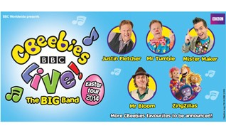 CBeebies Live The Big Band tickets at Wembley Arena in London
