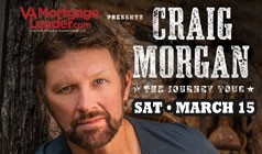 Craig Morgan tickets at Starland Ballroom in Sayreville