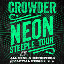 Crowder  tickets at The Regency Ballroom in San Francisco
