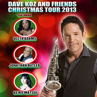 Dave Koz & Friends Christmas Tour 2013