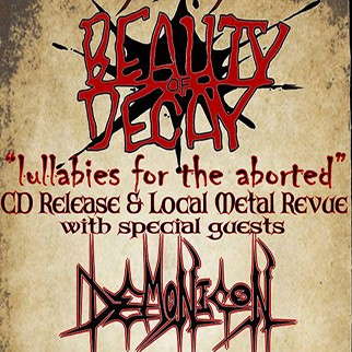 Demonicon & Beauty of Decay in The Nether Bar