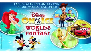 Disney On Ice presents Worlds of Fantasy tickets at Wembley Arena in London