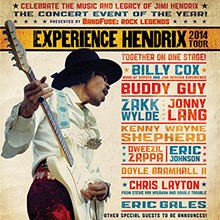 Experience Hendrix tickets at Verizon Theatre at Grand Prairie in Grand Prairie