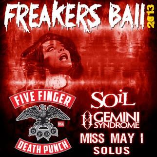 Freakers Ball 2013