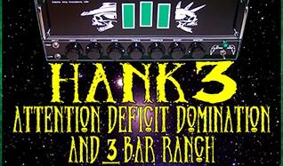 Hank 3 tickets at The Regency Ballroom in San Francisco