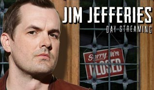Jim Jefferies tickets at Arvest Bank Theatre at The Midland in Kansas City