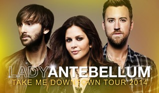 Lady Antebellum tickets at Citizens Business Bank Arena in Ontario