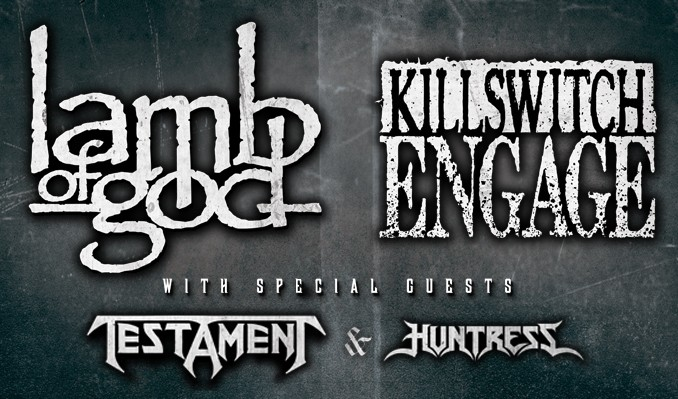 Lamb Of God and Killswitch Engage