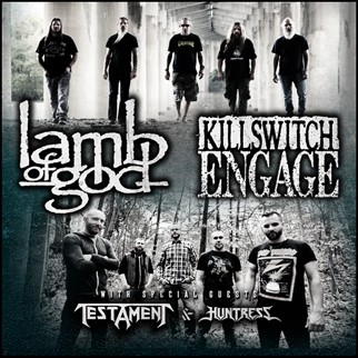 Lamb Of God / Killswitch Engage