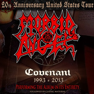 Morbid Angel playing Covenant in its entirety