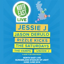 North East Live tickets at Stadium of Light in Sunderland