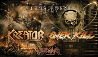 Overkill tickets at Trocadero Theatre in Philadelphia
