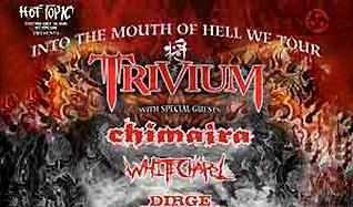 Trivium tickets at State Theatre, St. Petersburg