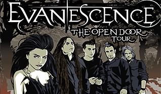 Evanescence tickets at St. Augustine Amphitheatre, St. Augustine