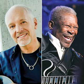 Peter Frampton along with B.B. King