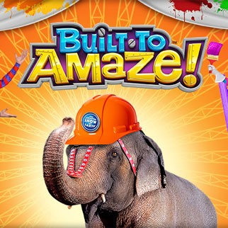 Ringling Bros. and Barnum & Bailey Circus presents BUILT TO AMAZE!