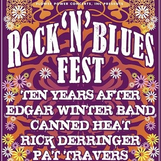 Rock n Blues Fest: Ten Years After, Edgar Winter, Rick Derringer, Canned Heat, Pat Travers