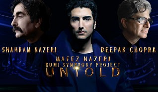 Shahram & Hafez Nazeri with Deepak Chopra tickets at Nokia Theatre L.A. LIVE in Los Angeles