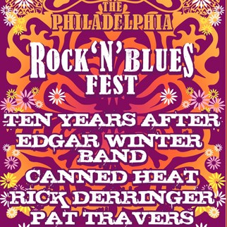 Ten Years After, Edgar Winter Band,Canned Heat, Rick Derringer, Pat Travers