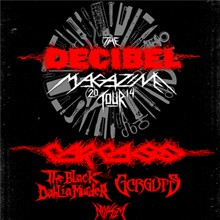 The Decibel Magazine Tour Feat. Carcass tickets at Best Buy Theater in New York