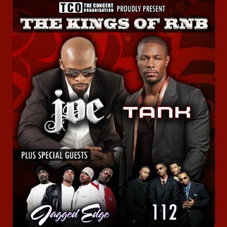 The Kings of RnB - Joe, Tank, Jagged Edge, 112