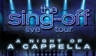 The Sing Off Live Tour  tickets at The Warfield in San Francisco