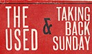 The Used and Taking Back Sunday tickets at The Warfield in San Francisco