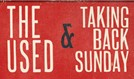 The Used and Taking Back Sunday tickets at Ogden Theatre in Denver