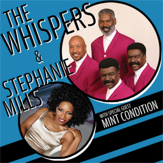 The Whispers, Stephanie Mills