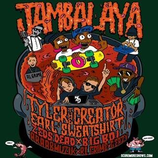 JAMBALAYA  Festival feat.  Tyler, The Creator & Earl Sweatshirt