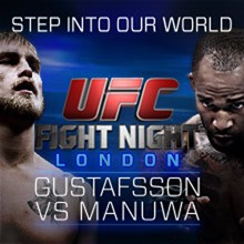 UFC Fight Night London: Gustafsson vs. Manuwa  tickets at The O2 in London