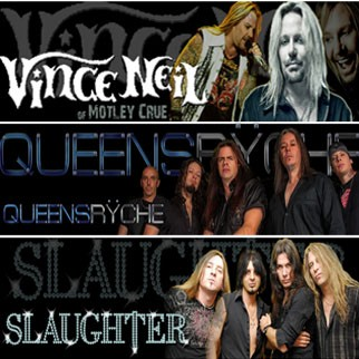 Warriors of Rock: Vince Neil of Motley Crue, Queensrÿche, Slaughter