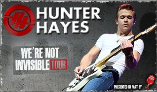 Hunter Hayes tickets at Eastern Kentucky Expo Center in Pikeville
