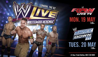WWE Raw tickets at The O2 in London