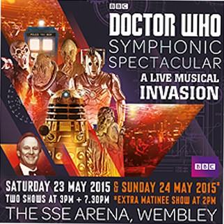 Doctor Who Symphonic Spectacular - EXTRA SHOW ADDED
