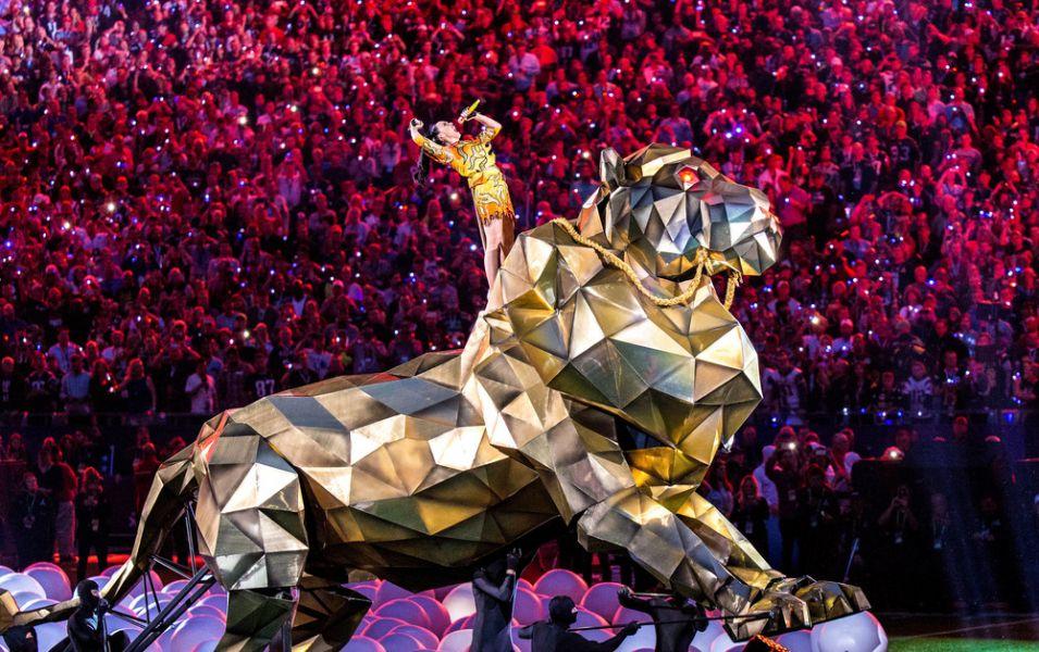 Katy Perry halftime show trumps John Legend, Idina Menzel ...