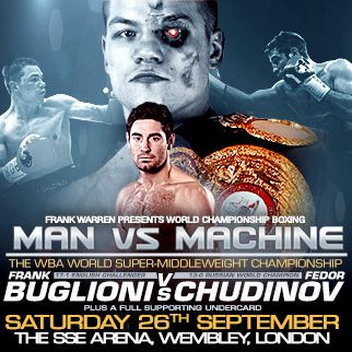 Championship Boxing: Buglioni vs Chudinov Tickets