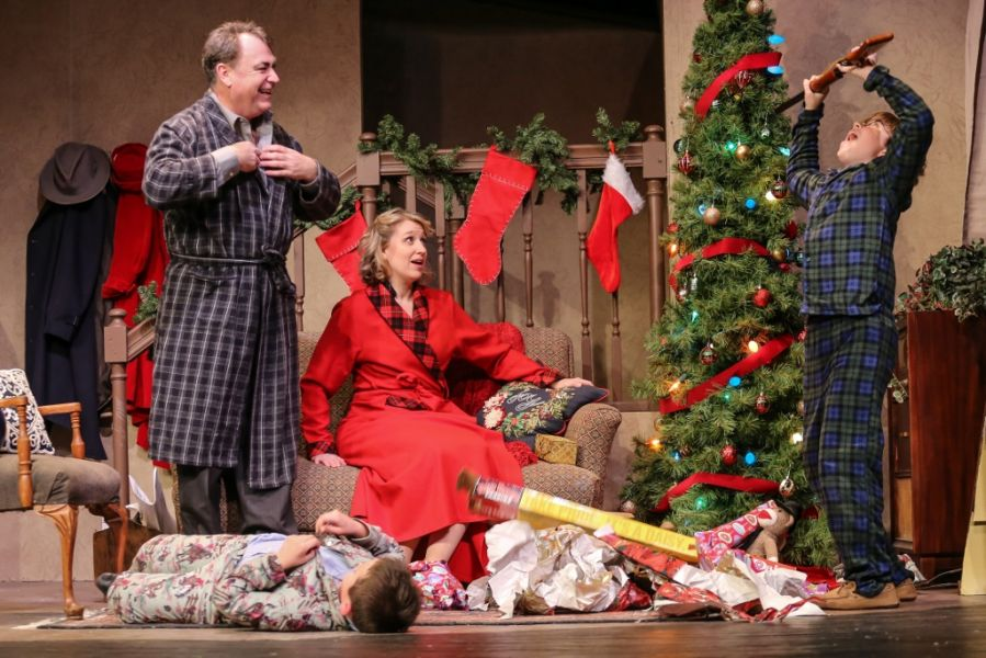 Randy Christmas Story.Tacoma Little Theater Stages Holiday Fun With A Christmas