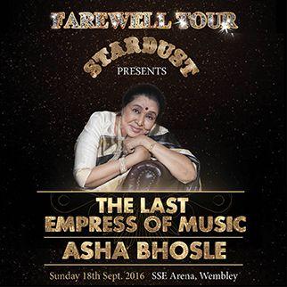 Asha Bhosle's Farewell Tour