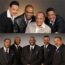 the four tops and the temptations tickets in melbourne at maxwell c king center for the. Black Bedroom Furniture Sets. Home Design Ideas