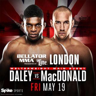 Bellator 179: DALEY vs MacDONALD